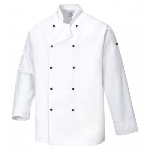 Portwest C831,Jacheta Cornwall Chefs,jacheta pentru bucatari